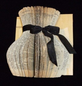 Cut Book Jar