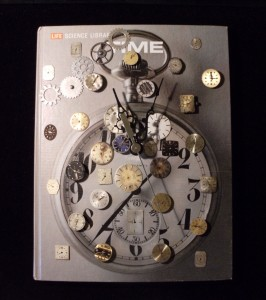 Altered Book Time Clock