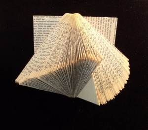 Altered Folded Book swoosh