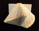 Folded Altered Book swoosh
