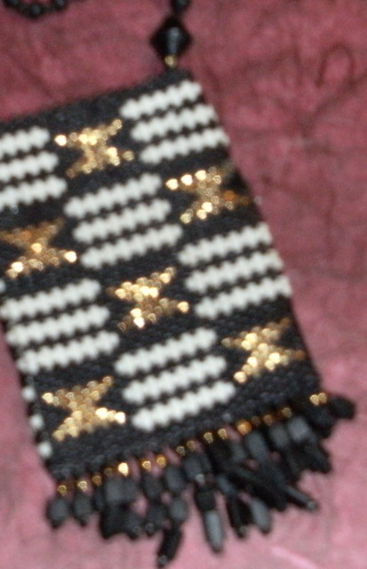 Beaded Kinte Amulet Purse